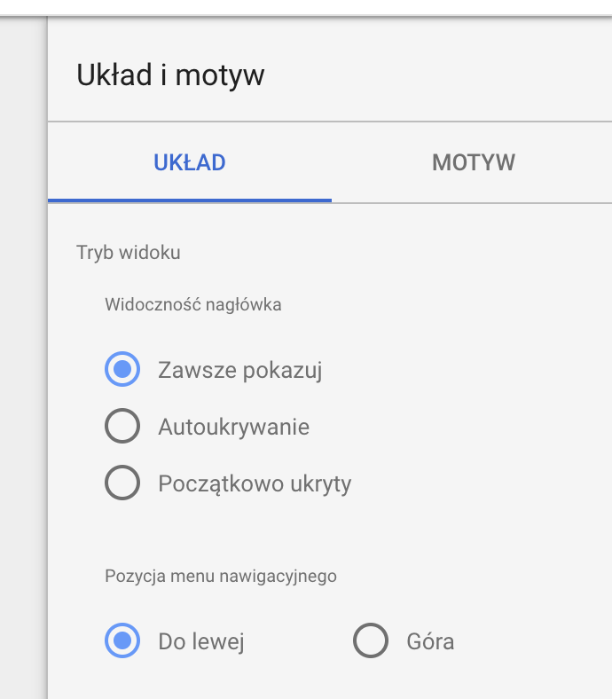 uklad-menu-raportu-google-data-studio